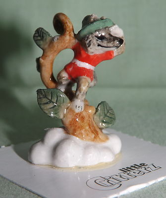 "Fox ""JACK & the BEANSTALK"" MINIATURE Figurine Porcelain LITTLE CRITTERZ LC644"